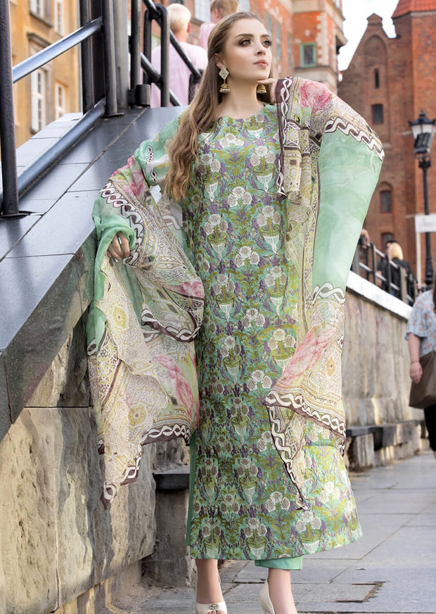 MARRAKESH - KHAS - READYMADE PAKISTANI LAWN SUIT - Memsaab Online