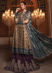 MBD02 - Maria B - Embroidered Heritage Collection 2019 - Unstitched - Pakistani Designerwear - Memsaab Online
