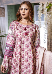 MEM652 Readymade Gold Printed Winter Suit - Memsaab Online