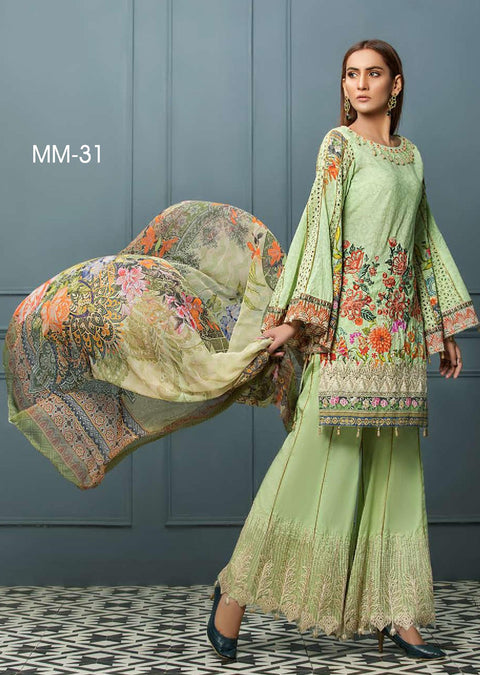 Mukhtar's Feroza Luxury Lawn 2019 Readytowear Collection - Pakistani Designerwear - Memsaab Online