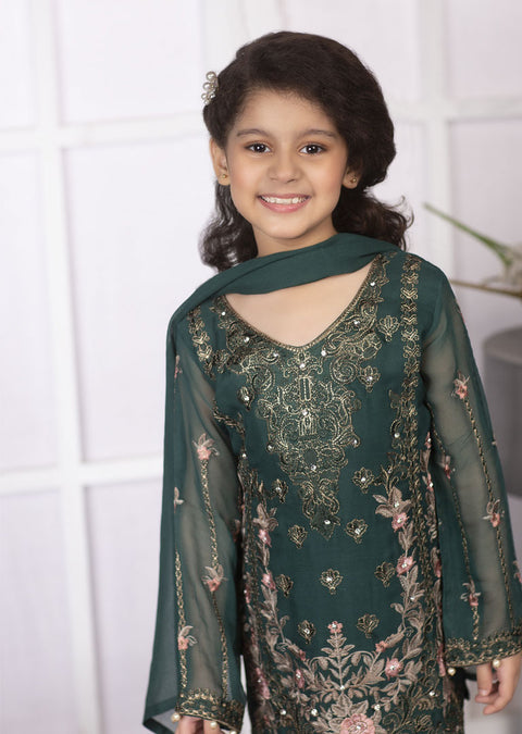 02 - Meena - Simran Kids Designer Suit Readymade Collection Vol 4 - Memsaab Online