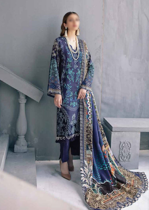 R102R - Readymade - Ramsha Riwayat Luxury Linen Collection 2020 - Memsaab Online