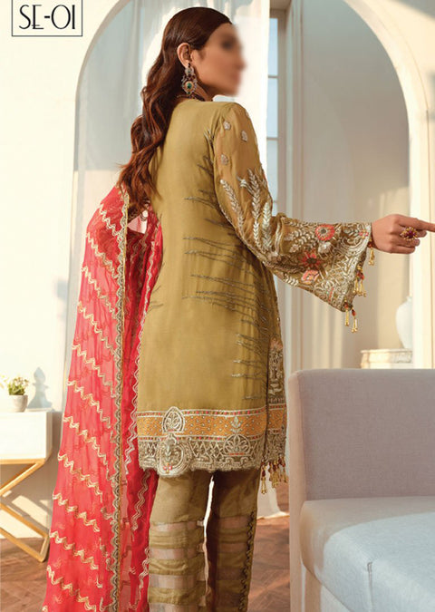 SSE01 - Simran Exclusive Chiffon Readymade Collection Vol 1 - Memsaab Online