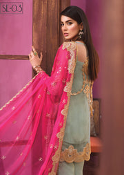 SSE03 - Simran Exclusive Chiffon Readymade Collection Vol 1 - Memsaab Online