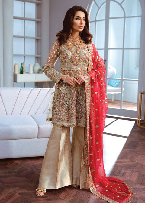 SSE04 - Simran Exclusive Chiffon Readymade Collection Vol 1 - Memsaab Online