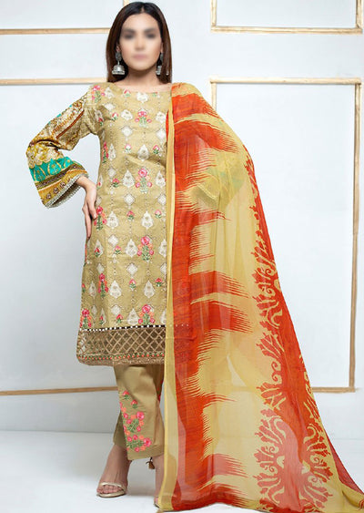 SM10 - Readymade Simrans Lawn Luxury Collection Vol 2 2020 - Memsaab Online