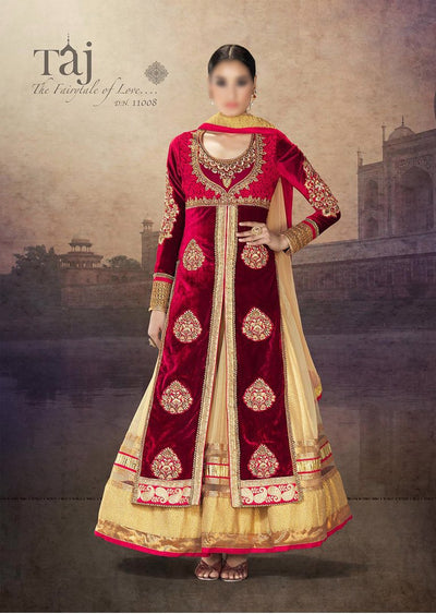 RAMA TAJ VELVET COLLECTION - Memsaab Online