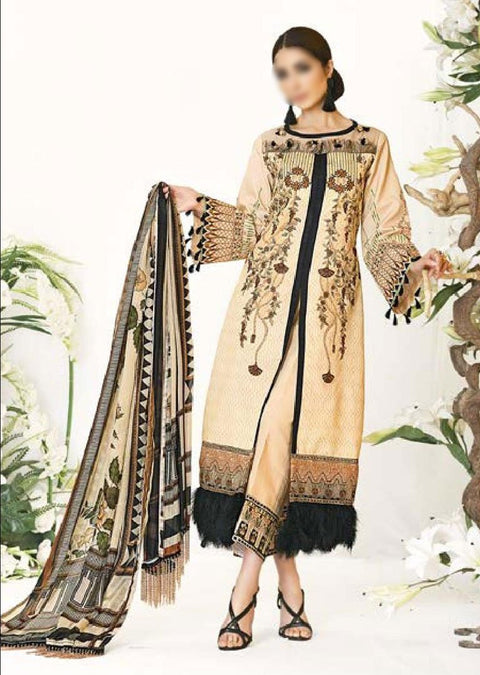 Zarqash En Soie Lawn Collection - Memsaab Online