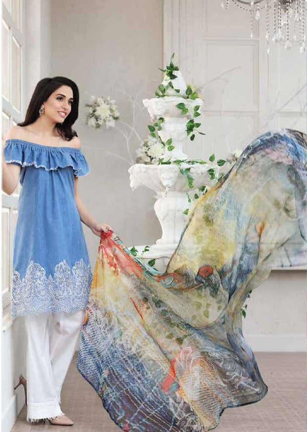 Zarqash Chateau De Provence Lawn Collection - Memsaab Online