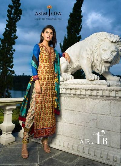AJE1 Asim Jofa Eid Collection 2014 - Memsaab Online