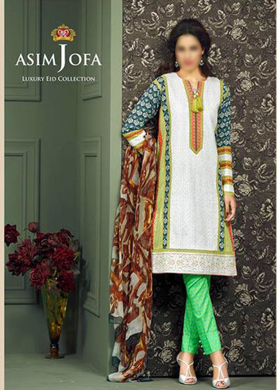 Asim Jofa Luxary Eid Collection 2015 - Memsaab Online