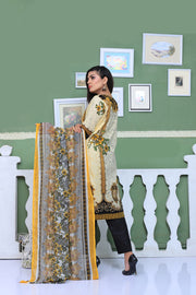 AMT803 - Black - Readymade Pakistani Memsaab Designer Embroidered Lawn Suit - 2019 Vol 2 - Memsaab Online