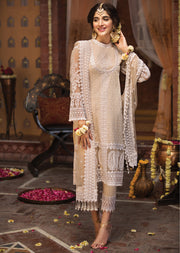 Ayla - Anaya by Kiran Chaudhry - Festive Collection 2019 - Unstitched Pakistan Designer Embroidered Lawn Original Suit - Memsaab Online