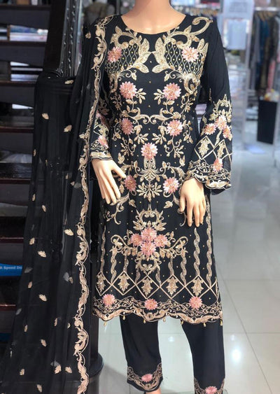 ZN9853 Readymade Zoon Black Suit - Memsaab Online