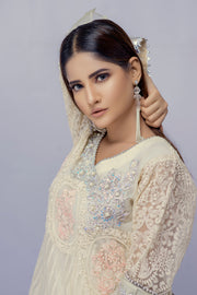 Valkeyri - Off White - Eternal by Memsaab - Ready to Wear Pakistani Designer Suit with handwork - Memsaab Online