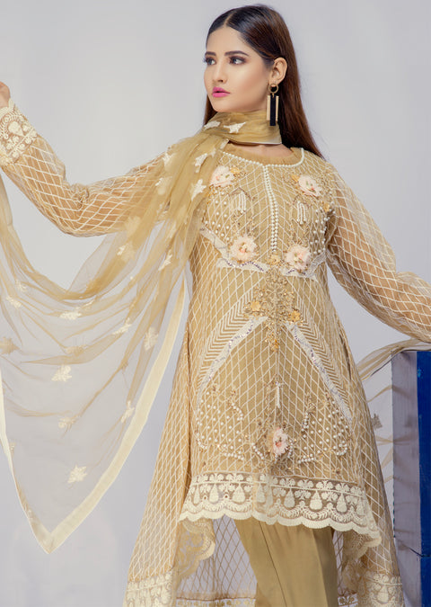 D8 - Damini - Skin- Eternal by Memsaab - Ready to Wear Pakistani Designer Suit with handwork - Memsaab Online