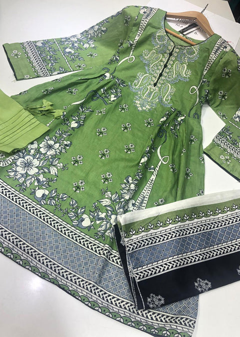 AMT23013 Readymade Lawn Suit - Memsaab Online