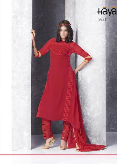 red Haya chiffon collection - Memsaab Online