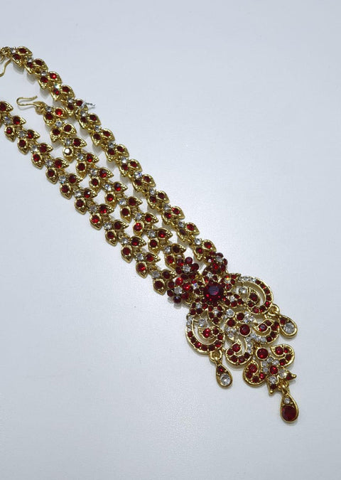 MP8603 -MAROON-Head Piece - Memsaab Online