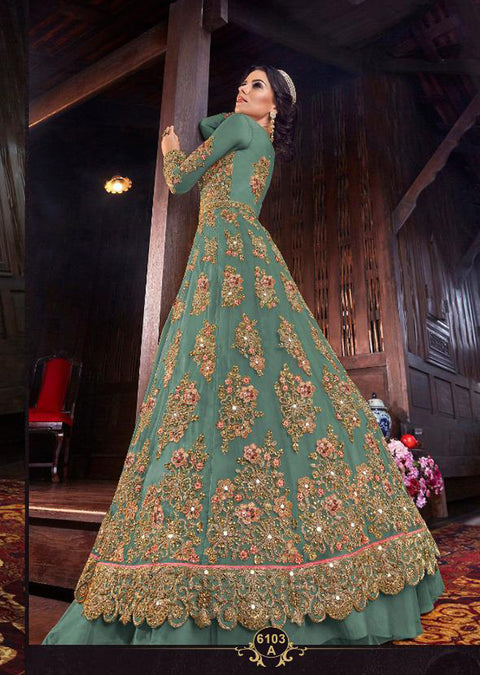 B - Unstitched - Indian Ethnic indo Western style Dress - Memsaab Online