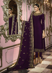 22653 - D - Unstitched Indian Style Salwar Kameez by Fiona - Memsaab Online