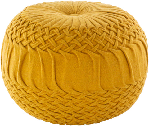 leather pouf, Poufs, Alana Pouf, Petunia Home, Petunia