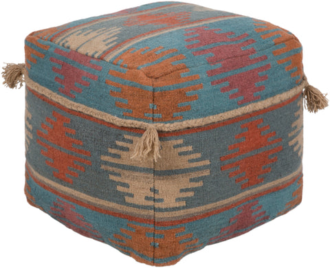 leather pouf,Adia Pouf, Petunia Home