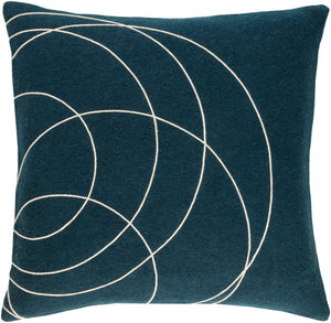 Solid Bold  Throw Pillow