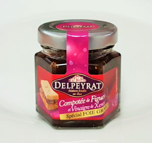 French Yummies Chutney of fig 50g Delpeyrat