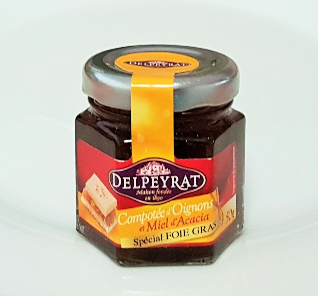 French Yummies Chutney of onions 50g Delpeyrat