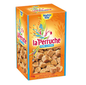 Brown sugar cubes La Perruche