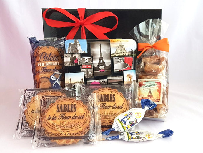 French Christmas gift box