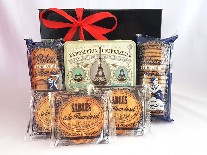 French biscuit lover gift box