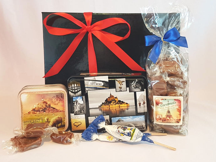 French caramel lover gift box