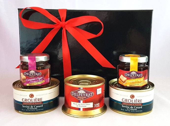 French savoury gift box