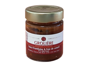 Raspberry and Foie Gras sauce in Australia