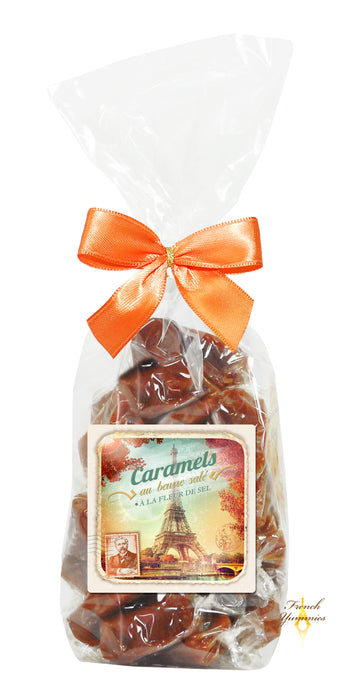 Salted butter caramels Paris vintage 180g French Yummies