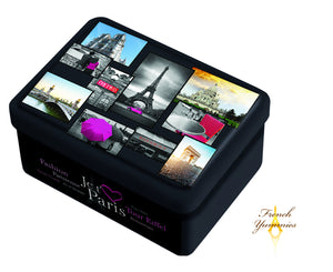 Paris pictures tin box with butter biscuits 130g