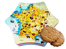 Load image into Gallery viewer, tin box france with french biscuits