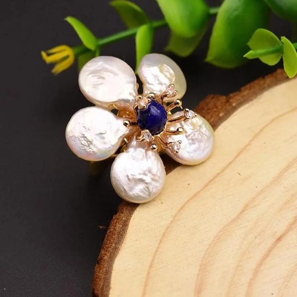 Aster Pearl Ring