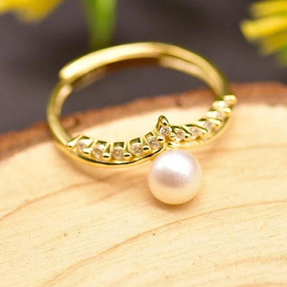 Monarch Pearl Ring
