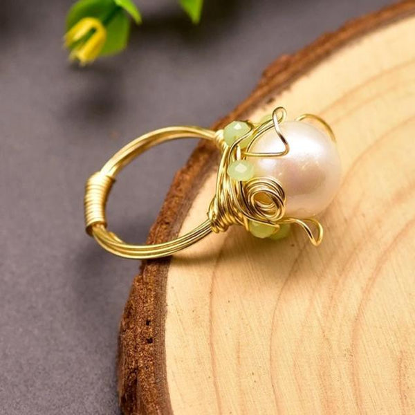 Mystical Pearl Ring