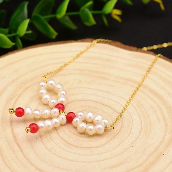 Loop Pearl Necklace