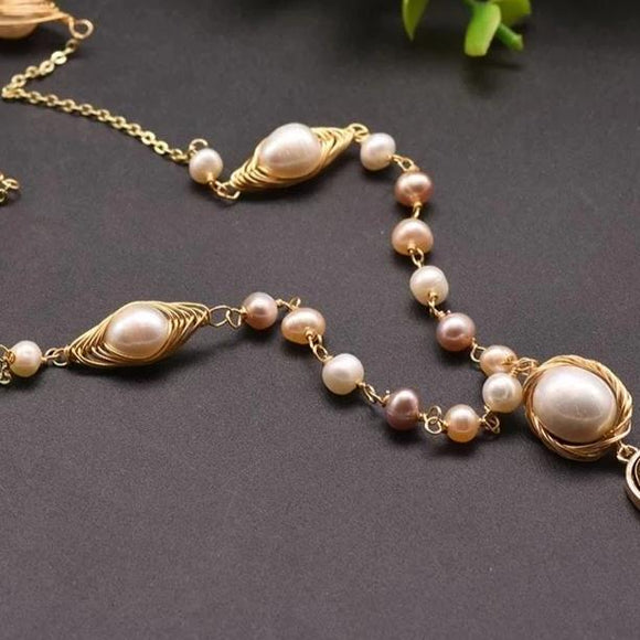 Mingle Pearl Necklace