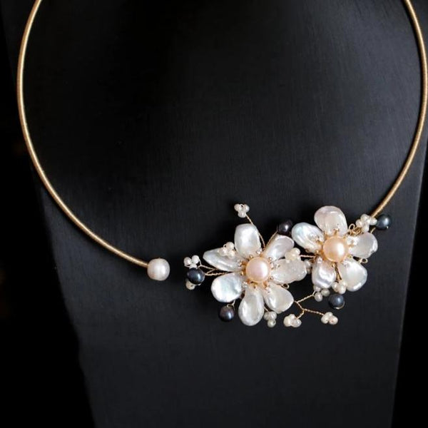 Divine Pearl Necklace