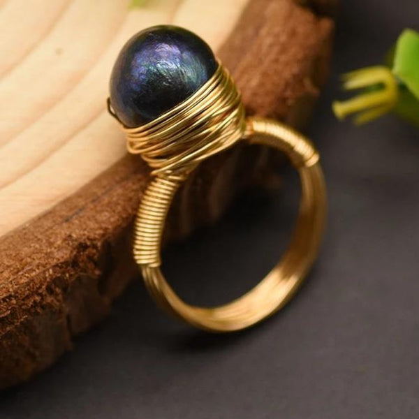 Margarite Pearl Ring