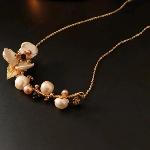 Opulence Pearl Necklace