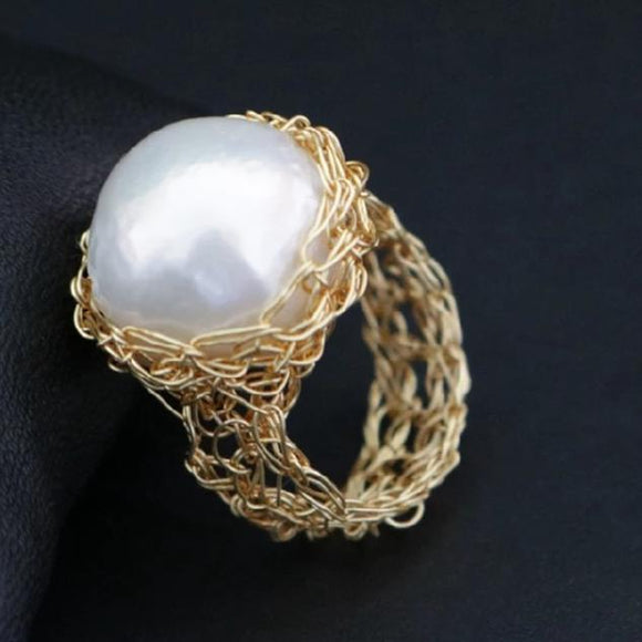 Magnificence Pearl Ring