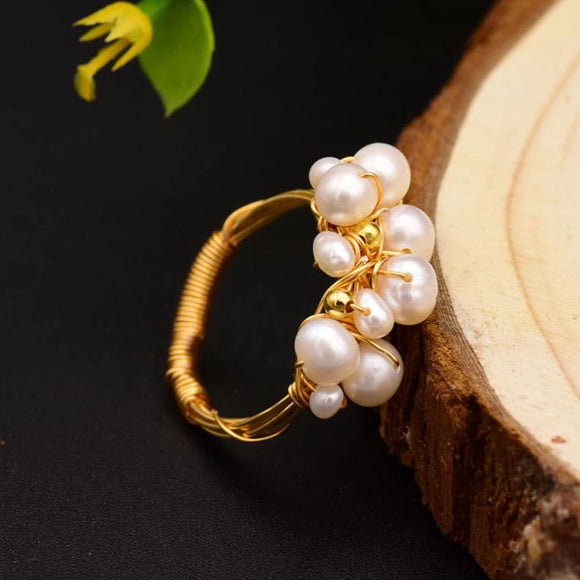 Lavish Pearl Ring