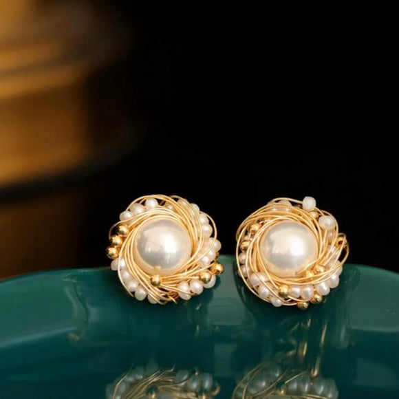 Boucles Pearl Earrings